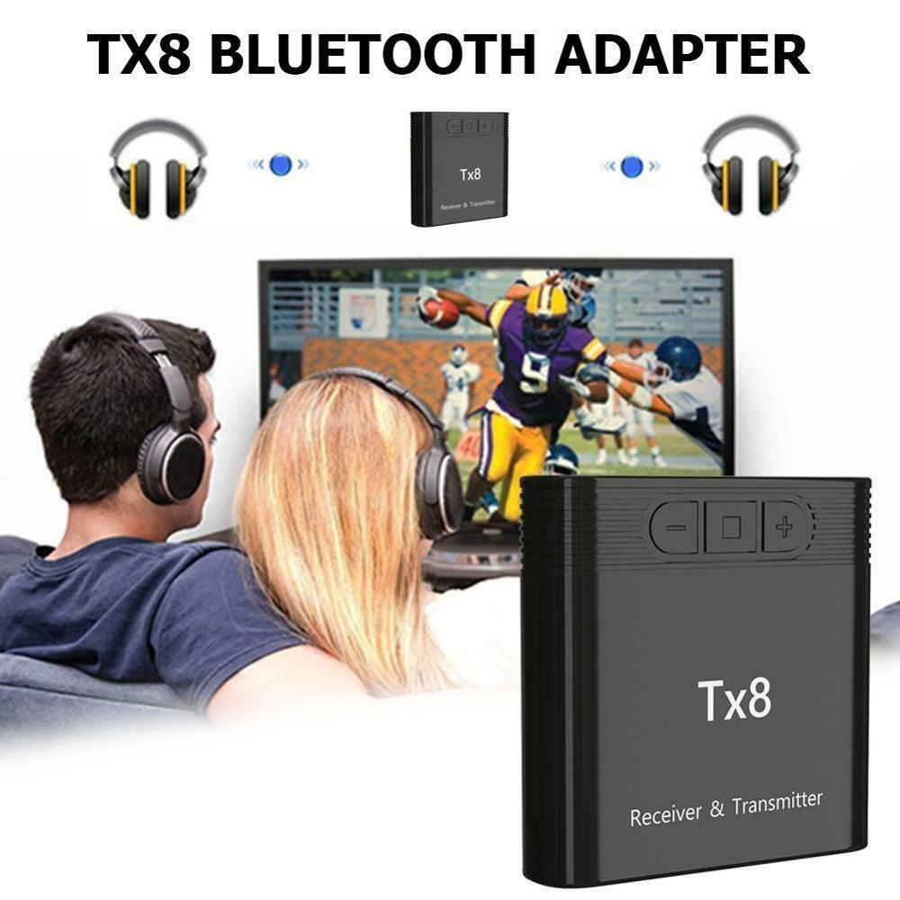 Bluetooth 5,0 adaptador de música inalámbrico TX8 ordenador portátil TV largo rango accesorios transmisor de Casa transmisor receptor Audio Coche