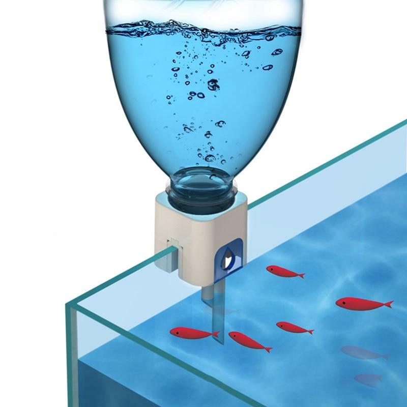 Tanque de agua automático para acuario, accesorio para agregar agua --- filtro de agua automático montado en la pared, herramienta para acuario