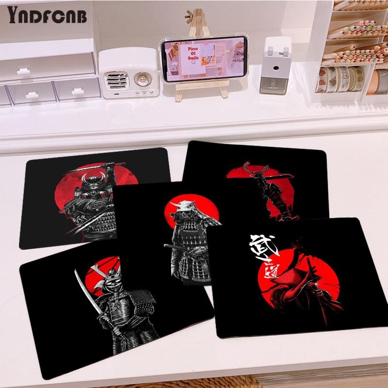 YNDFCNB простой дизайн, Японская Клавиатура Bushido Samurai, игровые коврики для мыши, гладкий коврик для письма, настольные компьютеры, коврик для игр...