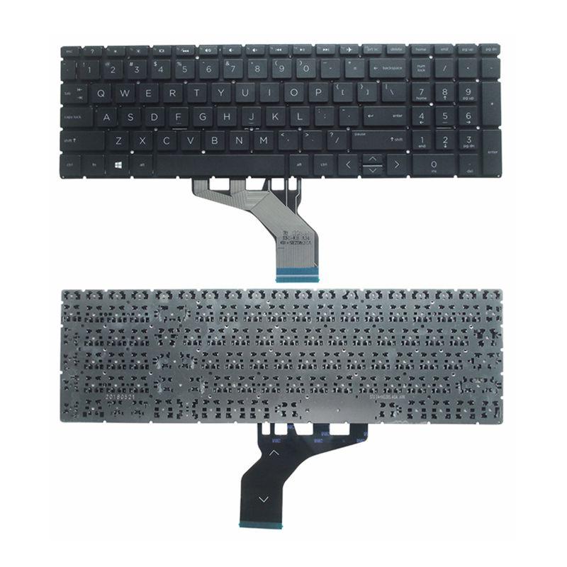 GZEELE جديد الإنكليزية لوحة مفاتيح إتش بي 15-DA 15-DB 15-DX 15-الدكتور 250 G7 255 G7 الأسود
