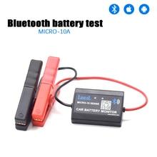 Lancol MICRO10A тестер автомобильного аккумулятора система 12В Bluetooth монитор батареи цифровой анализатор заряда батареи тестер нагрузки