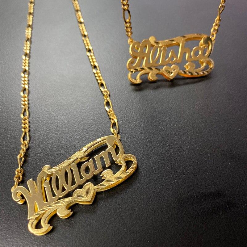 Ожерелье с именем под заказ, ожерелье из искусственного камня 3D под заказ, цепочка с именем под заказ, женские подарки на день рождения