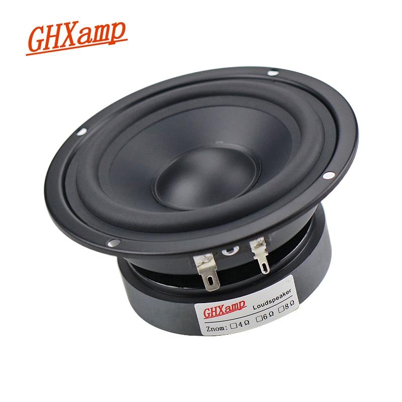 Pure Midrange Speaker Unit Hifi 4 INCH 115MM 80W Alto Speaker 8ohm Mediant Home MID Unit Rubber Side Matte Coated Paper DIY 1PCS