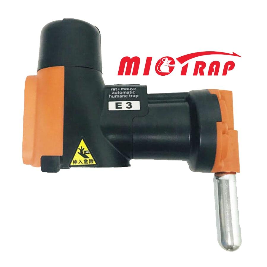 Ловушка A24 для крыс и мышей, устройство для автоматического сброса, с CO2 цилиндрами, гуманный и нетоксичный, для уничтожения грызунов
