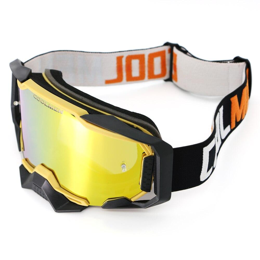 Мотоциклетные велосипедные очки для мотокросса ветрозащитные квадроциклы пылезащитные гоночные очки устойчивые к царапинам лыжные очки д...