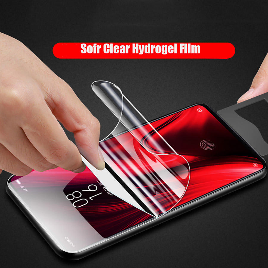 Hydrogel Film Protection Screen Case Cover For MEIZU 16X 16XS Explosion-proof FOR MEIZU 16S Pro 16T