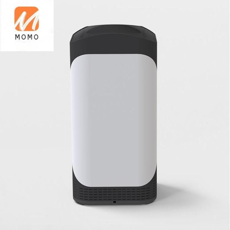 الأجهزة المنزلية الذكية المؤين الأبيض منقي هواء محمول للمنزل