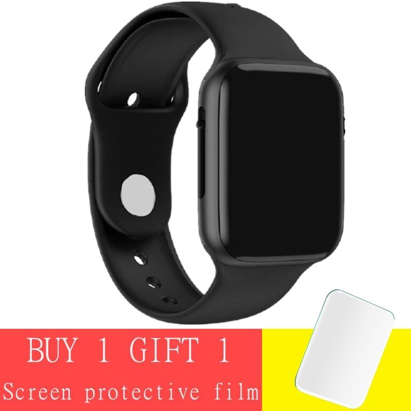 Reloj inteligente Abay iwo lite Serie 4 5 ecg ppg para hombres, reloj inteligente de ritmo cardíaco para Apple IPhone Xiaomi ios PK B57 P80 P70 Q9