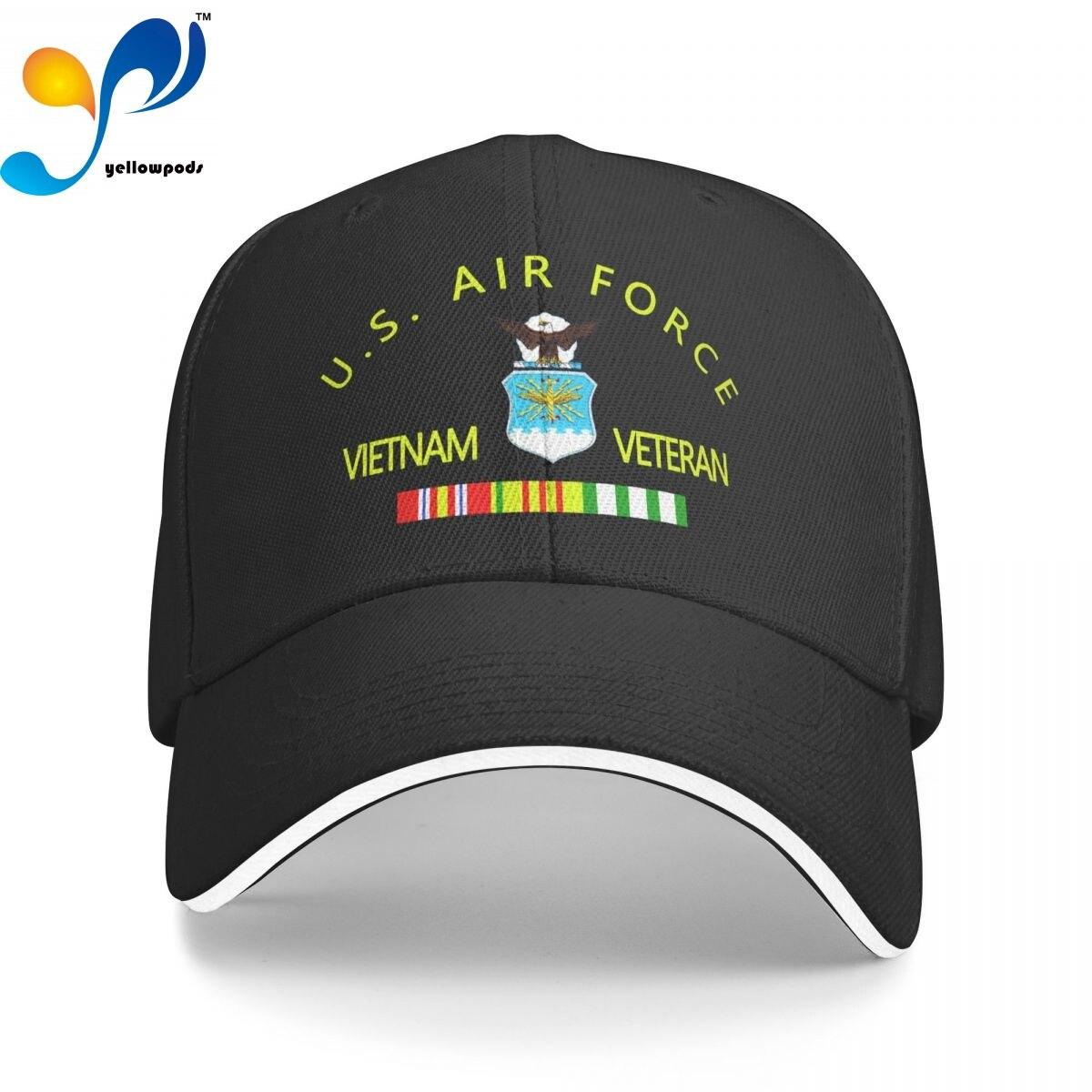 Вьетнамские ветераны с лентами, Кепка-тракер, бейсболка для мужчин, бейсболка с клапаном, мужские шапки, кепки с логотипом