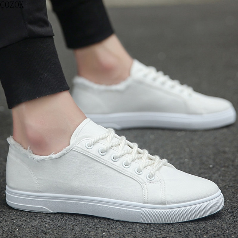 Spring autumn students Shoes Men Vulcanized Sneakers Fashion School Boys Sport Sneakers Male Casual