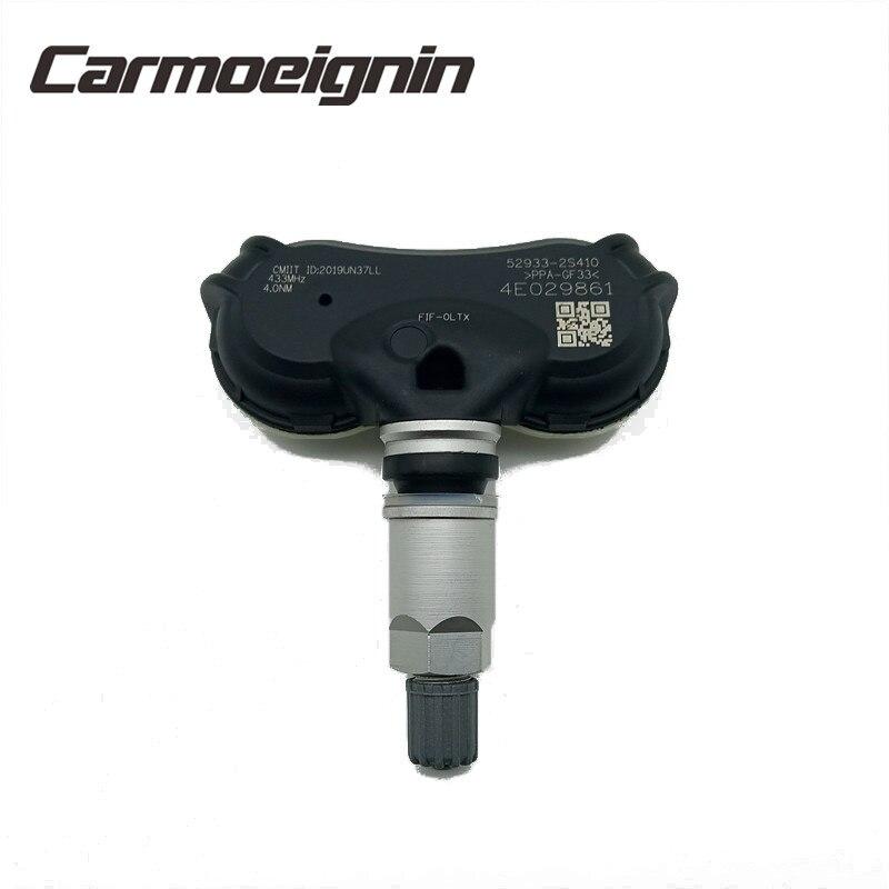 4 pièces 52933-2S410 433MHZ TPMS capteur de pression des pneus pour Kia Sportage Hyundai IX35 Elantra Equus 529332S410