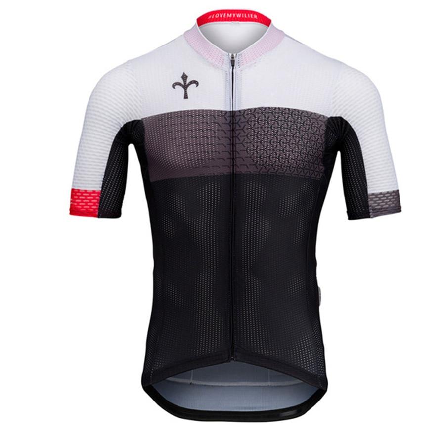 Wilier-Camiseta de ciclismo para hombre, maillot de equipo profesional de ciclismo de...