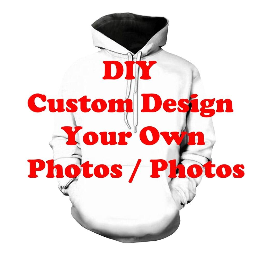 Lazer rua hoodie 3d impresso hip hop diy design personalizado dropship vem com imagem impressa moletom