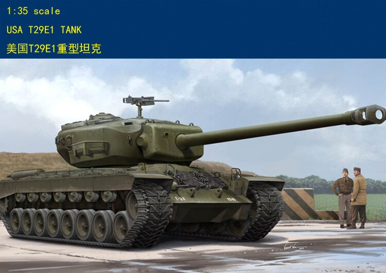 Hobbyboss 84510 1/35 us t29e1 tanque pesado