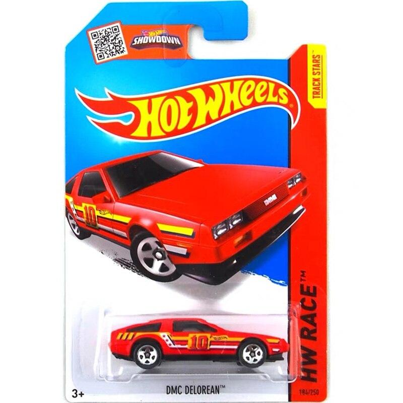 Hot Wheels 1 64 Auto DMC DELOREAN TERUG NAAR DE TOEKOMST Collector Edition Metal Diecast Cars Kinderen Speelgoed Gift