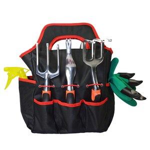 Workpro Kit Oxford Cloth Garden Box Gardening Toolkit Flower Shovel Bag 10PCS/Set Organizer Tool Bag