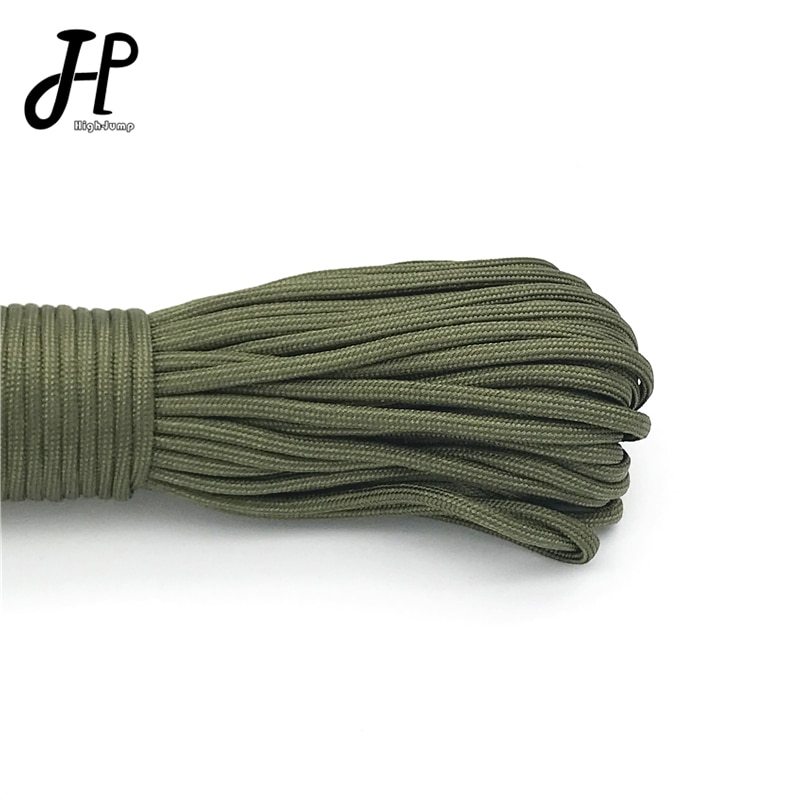 5 Meters Paracord for Survival Dia.4mm 7 Stand Cores Parachute Cord Lanyard Outdoor Tools Camping Rope Hiking Clothesline 5 meters dia 4mm 7 stand cores paracord for survival parachute cord lanyard camping climbing camping rope hiking clothesline