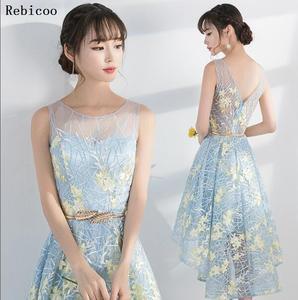 dress  new short desgin women elegant party fashion plus size Gown
