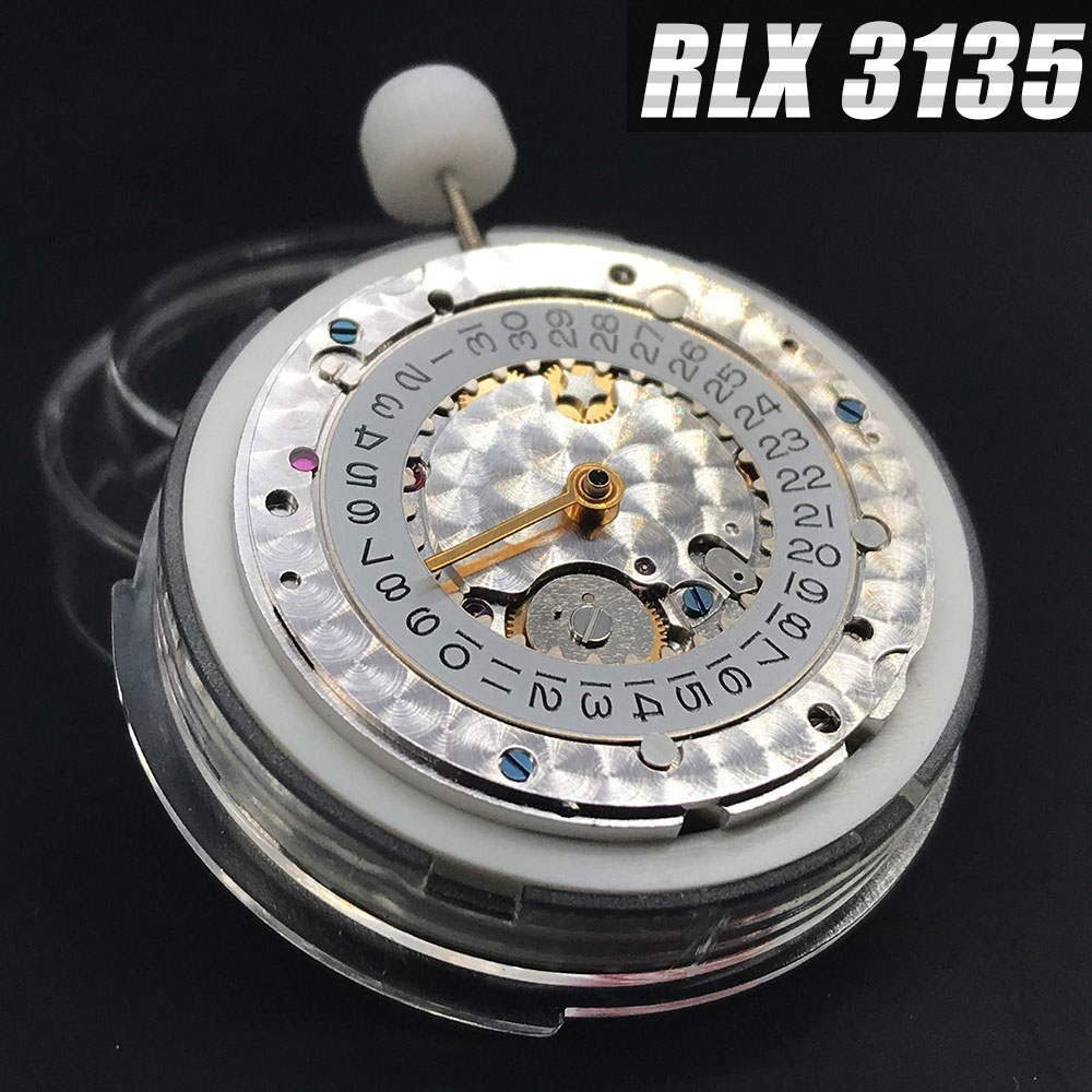 SEIKO RLX 3135 Mechanical Movement VR NOOB CHINA Clone Automatic Movt Replacement High Quality Made For Luxury Brand Watch