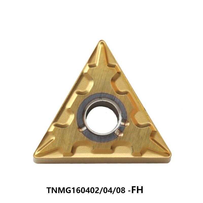 الأصلي TNMG 160408 TNMG160402-FH TNMG160404-FH TNMG160408-FH AP25N NX2525 UE6110 كربيد إدراج عدة المخرطة تحول القاطع
