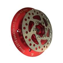 MONORIM-cubierta de Motor MD PRO, Rueda trasera para patinete eléctrico XIAOMI PRO, piezas de freno de disco mejoradas, accesorios