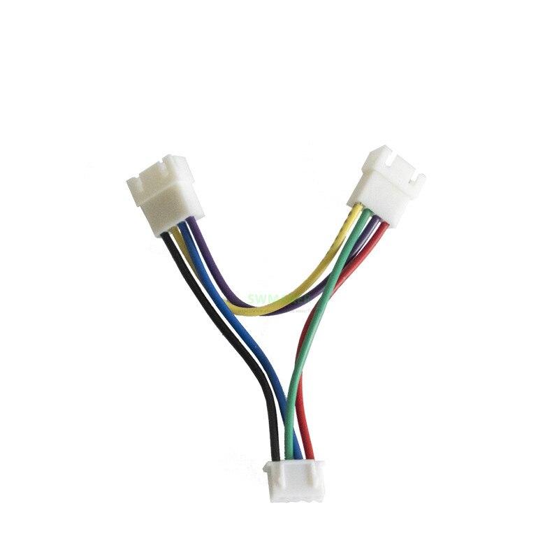 1 Uds. Serie de motores de doble eje Z printer prusa I3 de la serie UM2 + 3D línea de conexión/cable