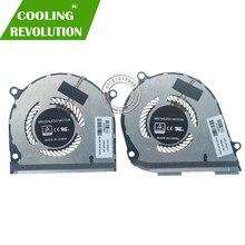 CPU del computer portatile GPU Ventola Di Raffreddamento DC5V 0.5A 4Pin per HP ENVY X360 15-DS 15-DR 15-DR0004TX 15-DR0006TX 15-DR0010TX L53542-001 l53541-001