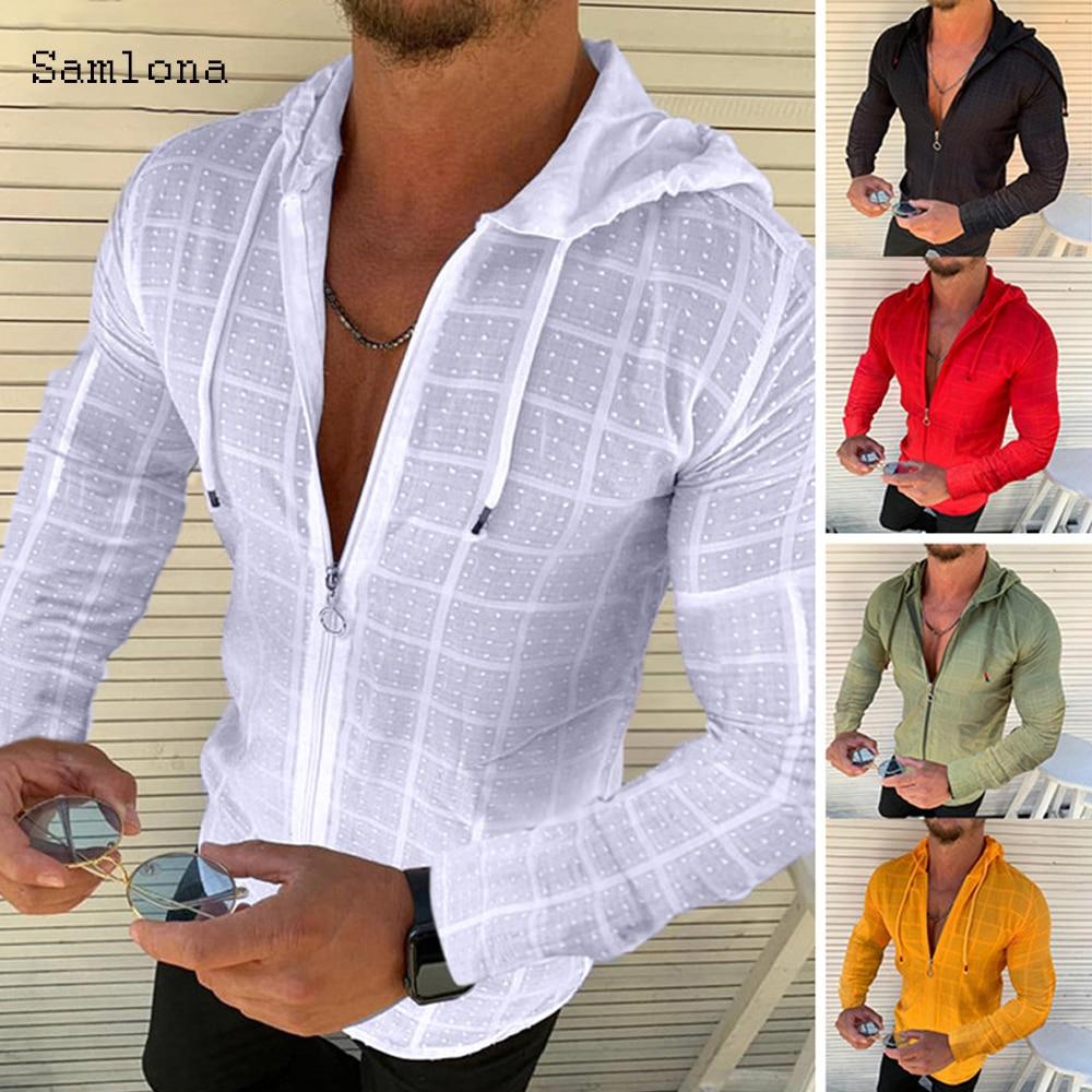 233 # camisa de los hombres, ropa de verano de color sólido...