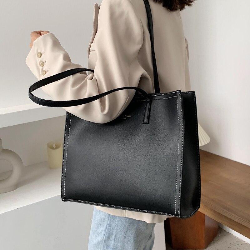 2021 جديد حمل حقيبة موضة أكسفورد القماش مقاوم للماء سعة كبيرة المحمولة حقيبة تسوق المرأة
