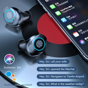 M17 In Ear Bluetooth Earphones TWS Earbuds with Mirror Charging Case Microphone Earpiece Bluetooth Sport Earbuds Headset