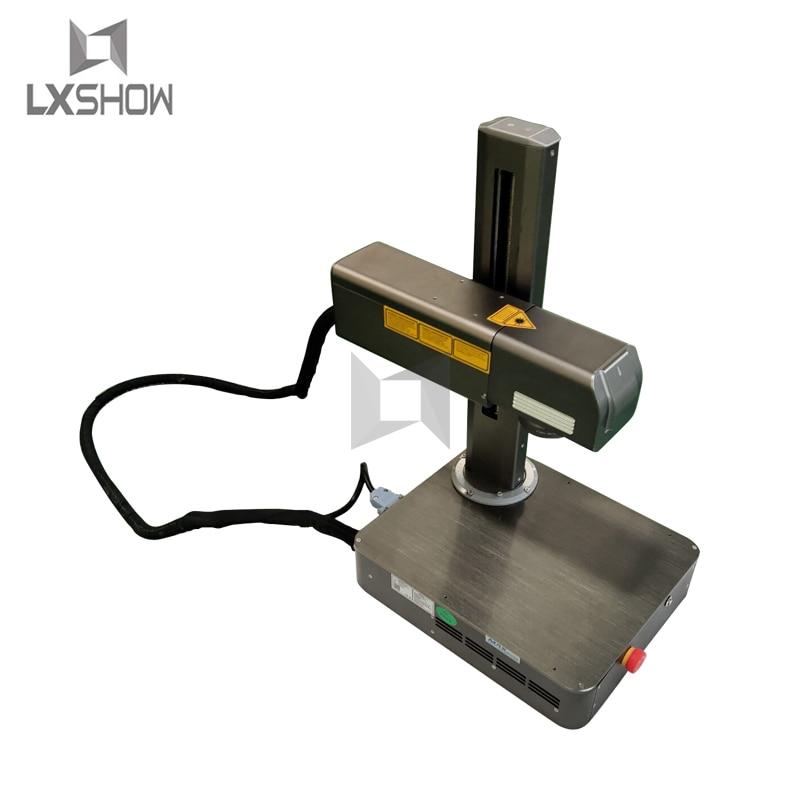 Color laser printer machine/Mopa fiber laser marking machine with rotary fixture