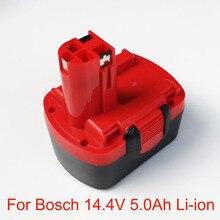 US 5000mah 14.4V Rechargeable Li-ion Battery replace for BOSCH cordless Electric drill screwdriver BAT038 BAT040 BAT041 BAT140
