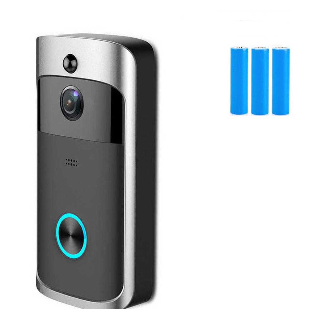 V5 Doorbell Smart IP WIFI Video Intercom WI-FI Door Phone Bell Camera For Apartments IR Alarm Wireless Security Camera enlarge