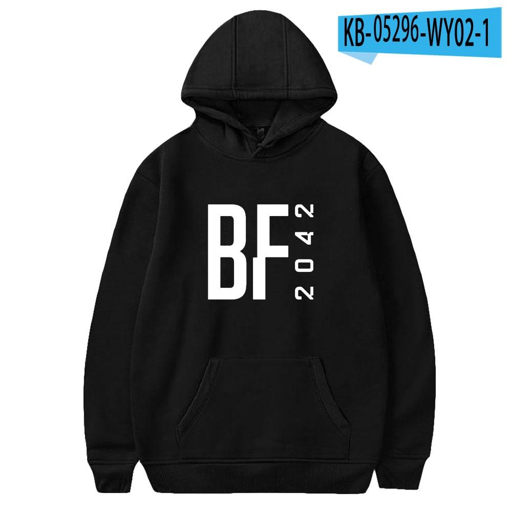 Game Harajuku Battlefield 2042 ropa Women Men Hoodies Kids Sweatshirts Japan Autumn Winter BF2042 Hoodie Men's training clothes