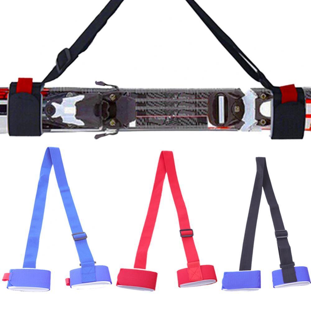Correa de nailon ajustable para tabla de esquí, soporte para el hombro,...