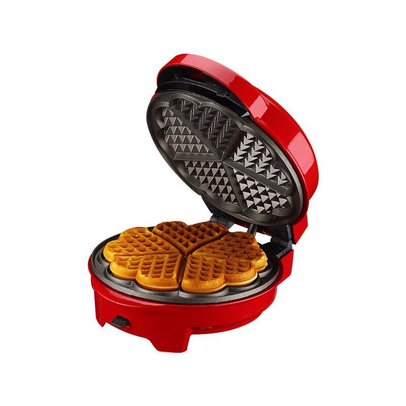 Máquina de gofres de suspensión de doble cara multifuncional para hornear Pan eléctrico para el hogar máquina de tortitas Mini máquina de tortitas