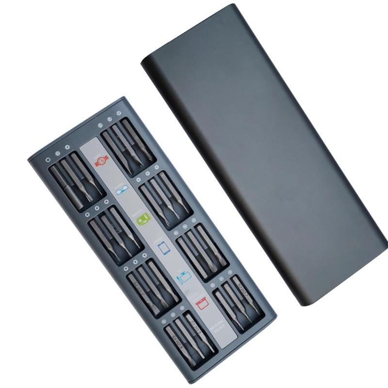 Kit de herramientas destornillador 48 en 1 para reparación de teléfonos, brocas magnéticas de doble cara para electrodomésticos