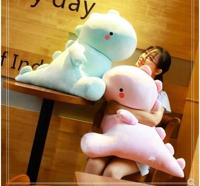 60CM/50cm/40cm/30cm Cartoon Dinosaur Pillow Plush Toys Stuffed Soft plush Animal Doll For Girls Boys Children Birthday Gift  - buy with discount