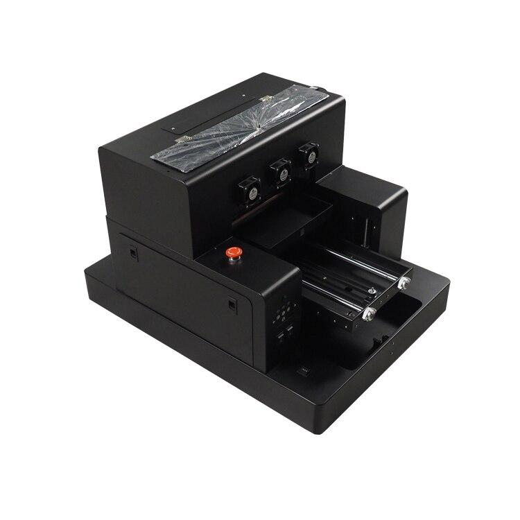Máquina de impresión UV de desvanecimiento tamaño A3 para la caja del teléfono de la tarjeta de visita botella etc impresión