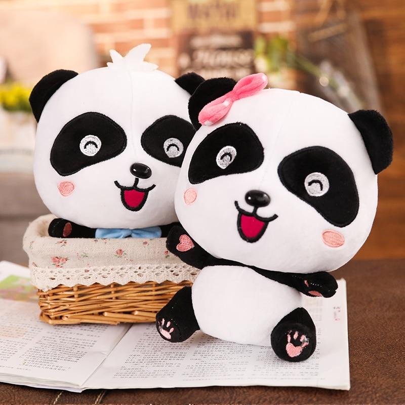 BabyBus 22/35/50cm Cute Panda Plush Toys Hobbies Cartoon Animal Stuffed Toy Dolls for Children Boys