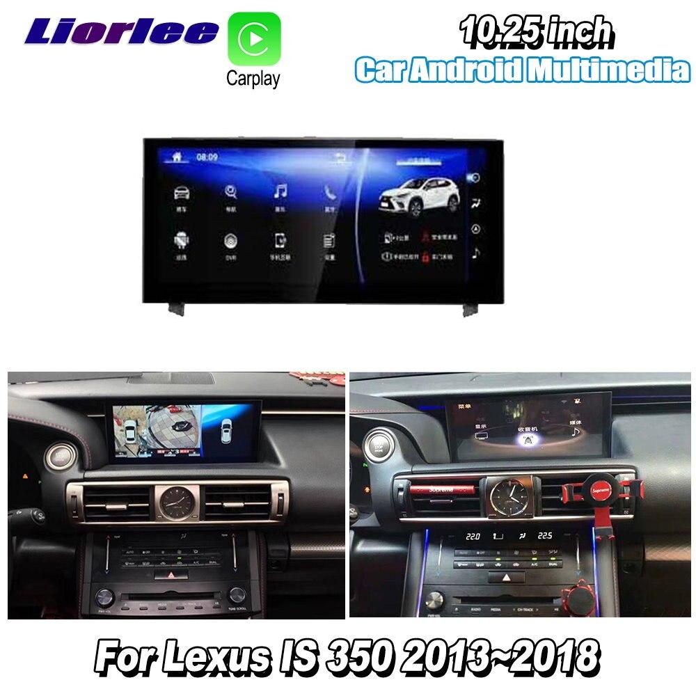 Liorlee Voor Lexus Is 350 2015-2018 Auto Android Multimedia Carplay Gps Navi Navigatie Speler Radio Stereo Wifi Dvd hd Scherm