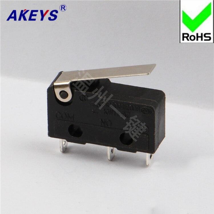 10 Uds MS-014 interruptor de ratón cuadrado largo microinterruptor Botón de ratón trípode relé JL026-16 .5