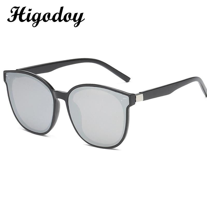 Higodoy Retro Round Oversized Sunglasses Women Luxury Brand Men Goggle Vintage Gafas De Sol Los Oculos Glasses