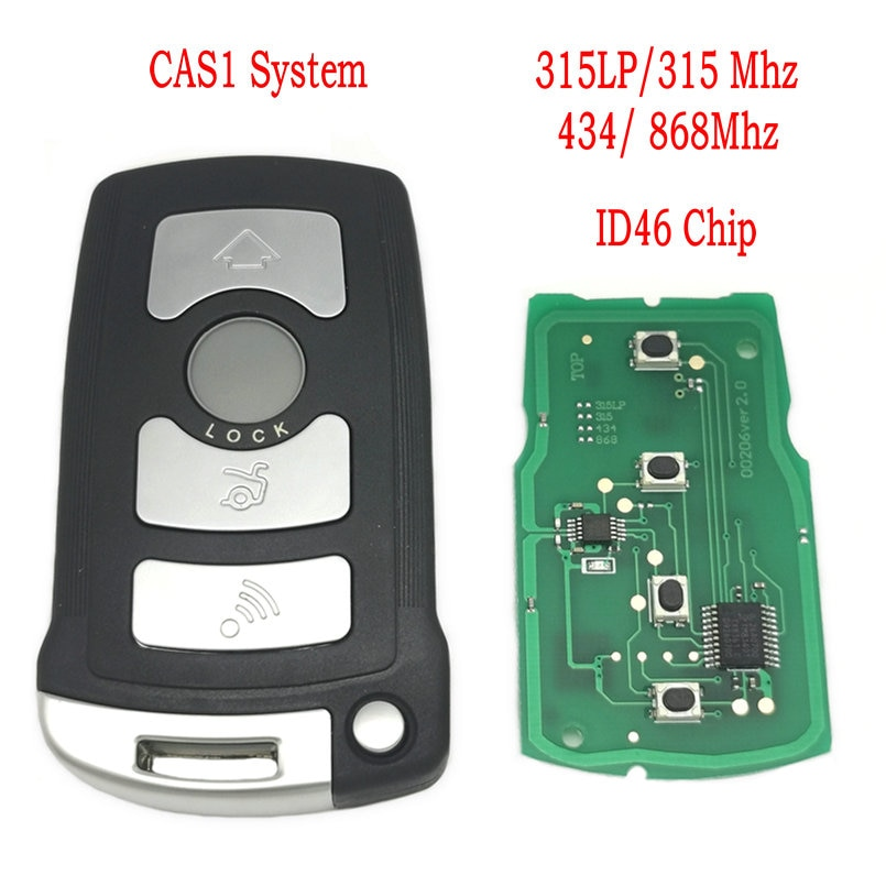 Datong World Car Remote Key For BMW E65 E66 CAS1 System7 Series 315/433/868 Mhz ID46 Chip Auto Smart Control