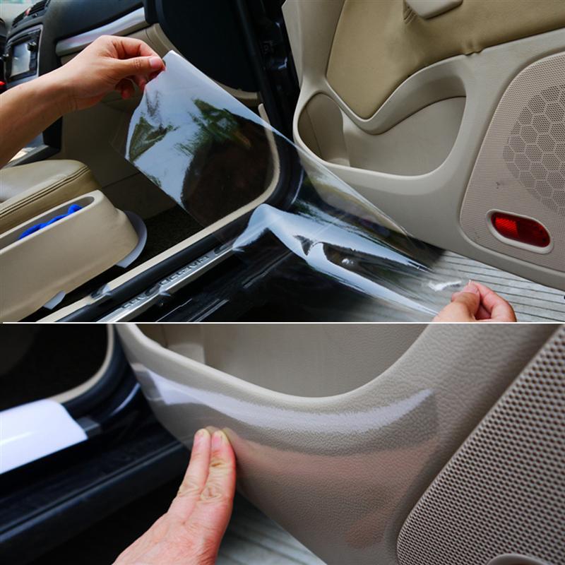 Высота каблука 10 см * 300 см автомобиля Стикеры бампер, капот Плёнка для защиты при покраске для BMW E39 E36 E90 F30 F10 Volvo XC60 S40 Audi A4 A6 Q5 аксессуары
