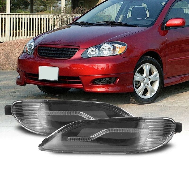 81210-AA011 Front LED Fog Lights Lamps for Toyota Corolla 2001 -2008 Camry 2002 2003 2004 8120-AA011