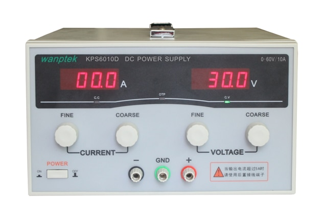 2 piezas KPS6010D 6020D 6030D alta precisión conmutación ajustable de alta potencia fuente de alimentación CC 220V EU 60 V/ 10A envío gratis
