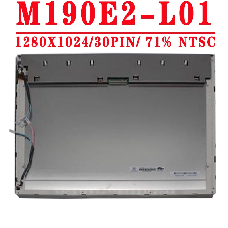 M190E2-L01 LM190E09 TLB1 LM190E0C SLA1 19.0 بوصة 1280x1024 30PIN LVDS 71% NTSC 250 cd/متر مربع 60HZ LCD شاشة