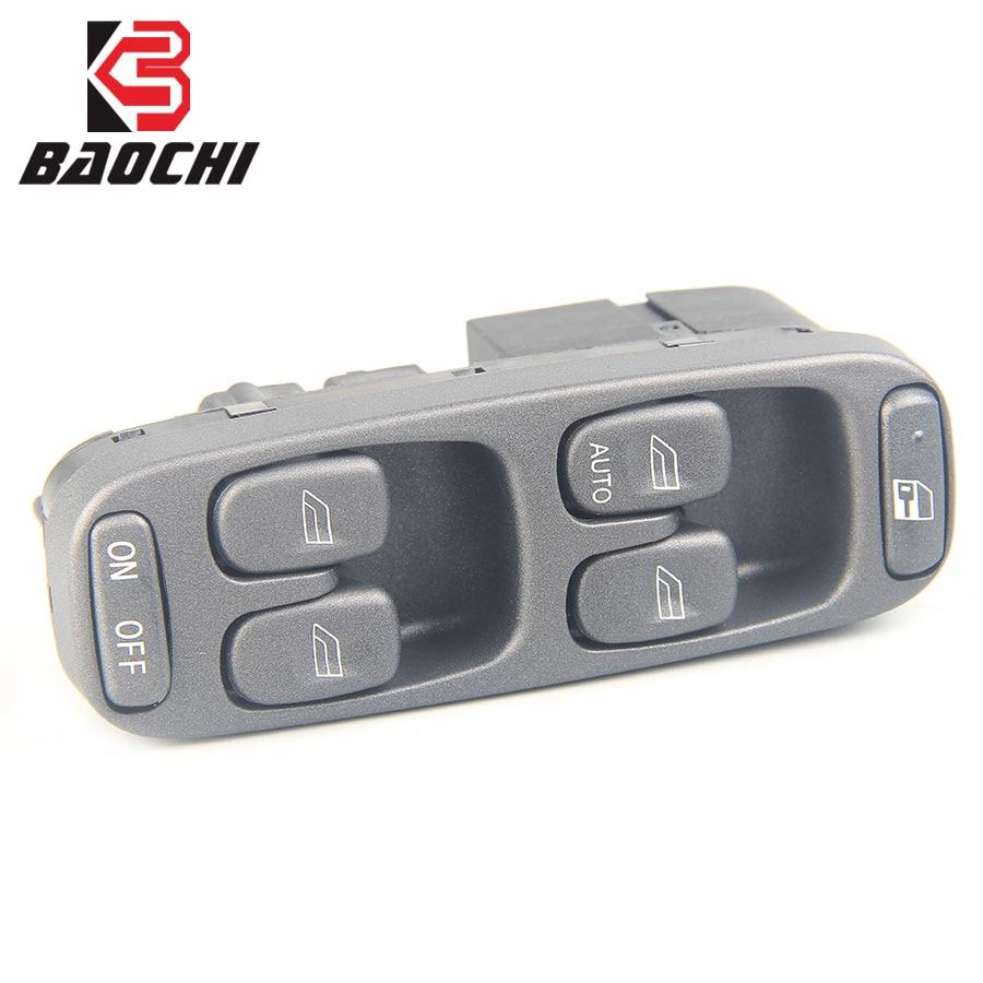 Coche controladores Lado de puerta de Auto elevador eléctrico interruptor principal de Control de ventanilla 8638452, 9472276 para Volvo S70 V70 JJ S70 XC70