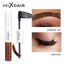 MIXDAIR Eye Mascara Gel colorante per sopracciglia impermeabile 4D Curling Mascara allungante di spessore Estensione del volume Crema per sopracciglia Ombra Trucco